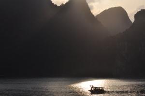 Sunset Ha Long Bay