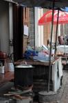 streetside cafe Laos