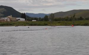 Helena Tri, swim portion