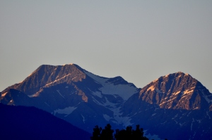 Mission Mountains at Sunrise