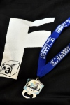 snuggie and medal