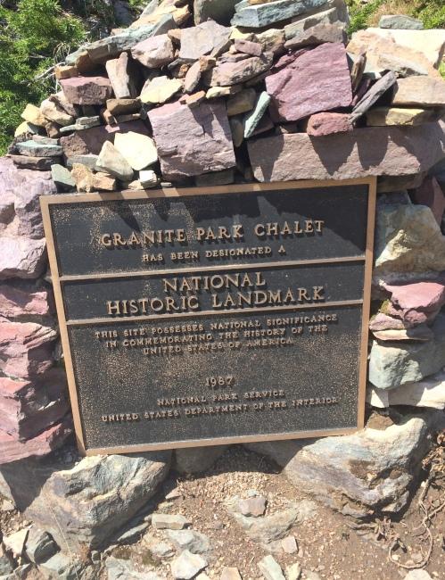 revisedgranite park chalet plaque